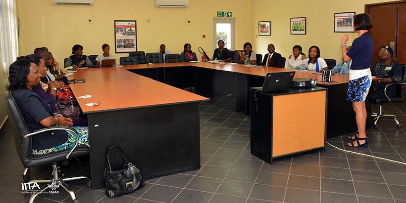 NITAD to partner with IITA in capacity building