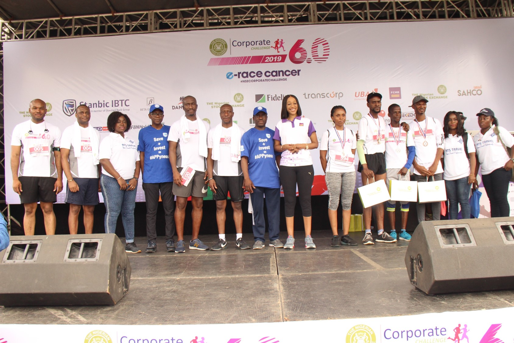 """Hundreds of Runners Braved the Rain to """"eRace Cancer"""" at NSE Corporate Challenge (Photos)"""