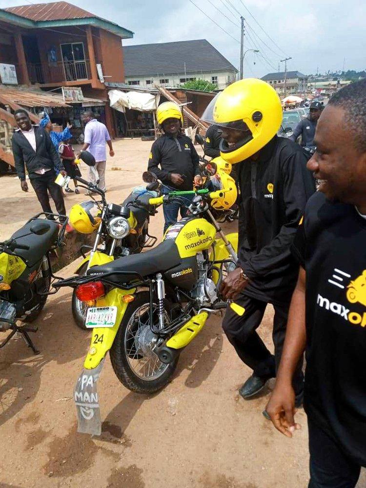 Ondo State Govt. Partners With MAX OKADA, Launches ''Sunshine Safe Bikes'' (Photos)