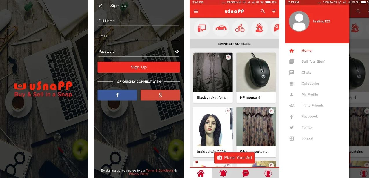 u-Snapp Launches Online marketplace mobile App in Nigeria