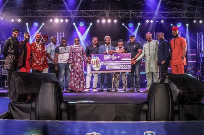 Chijioke Charles Emerges Winner Of Hi-Life Fest 2019 (Photos)