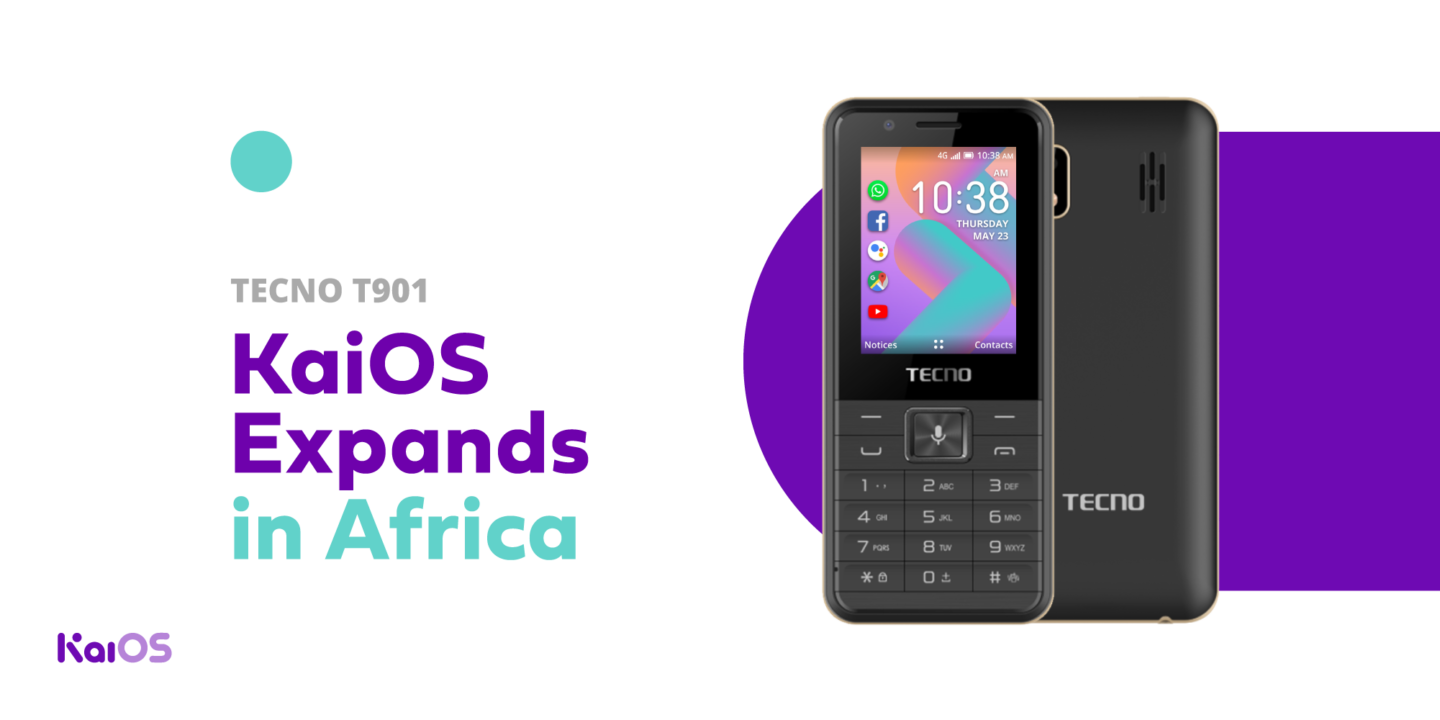 The First TECNO Device running KaiOS is here: Meet the T901