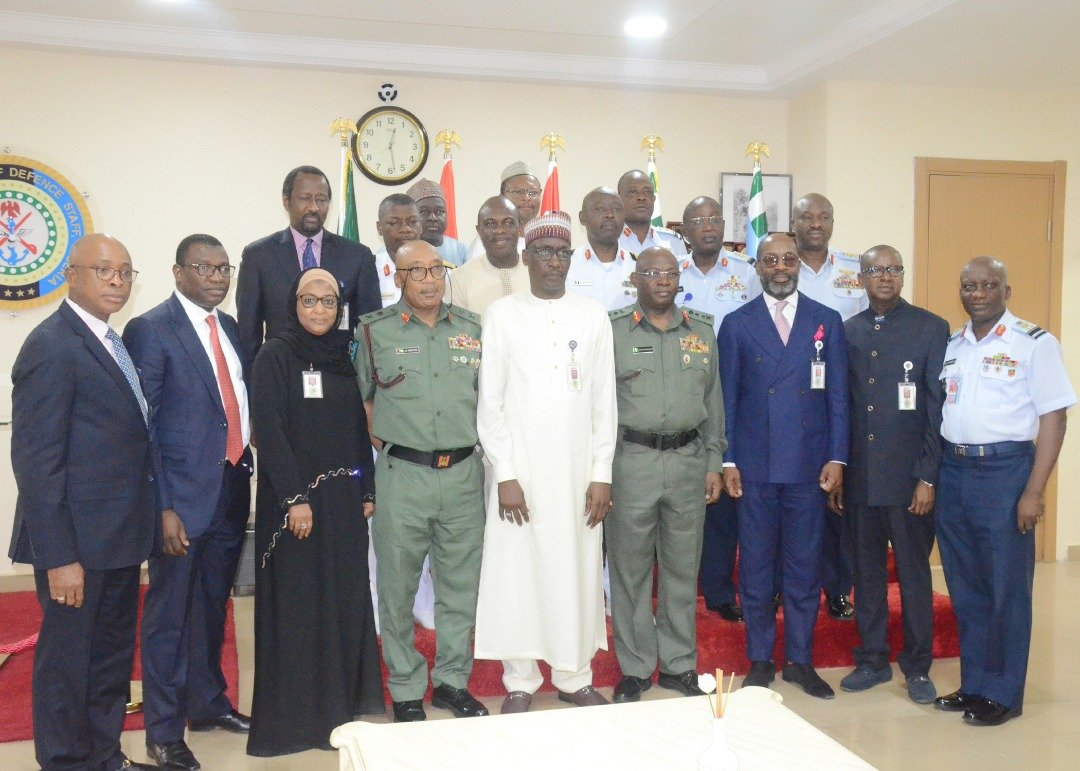 GMD NNPC Visits DHQ… Commends Armed Forces of Nigeria For Securing Nigeria's Oil Sector - Brand Spur