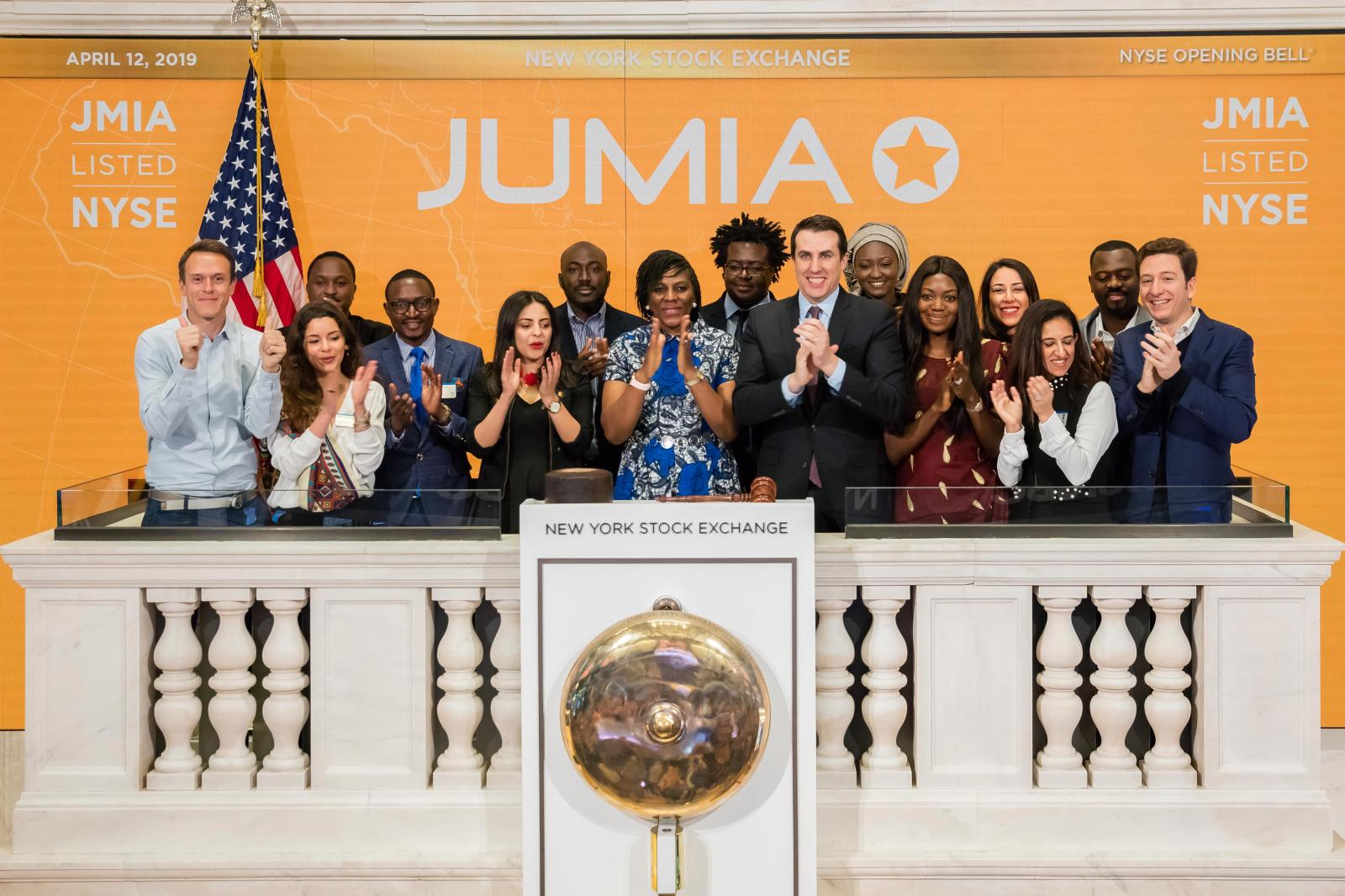 Jumia shares fall below IPO price on New York Stock Exchange Brandspurng