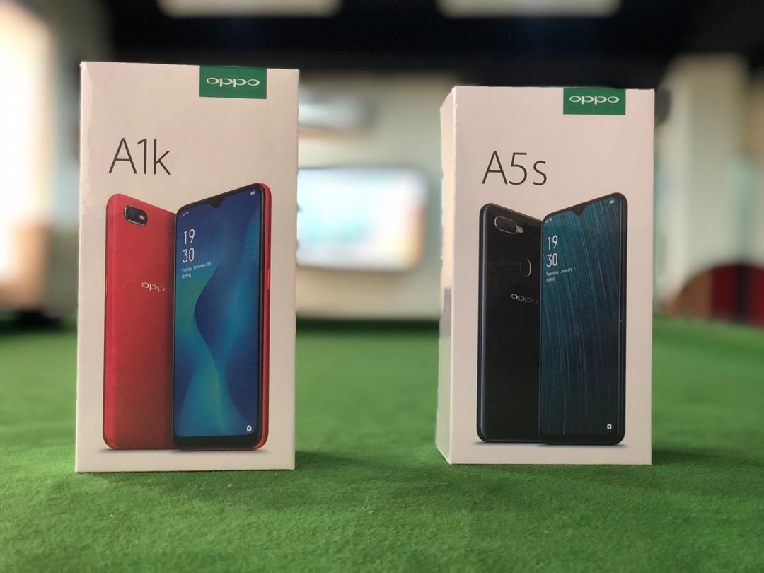 OPPO A1k and A5s mid-range smartphones now available in Nigeria