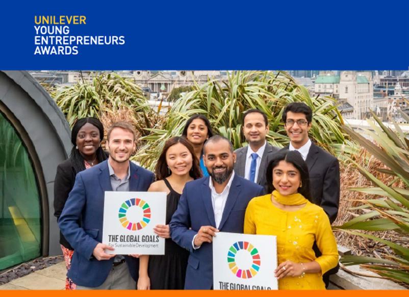 Publiseer Shortlisted for Unilever Young Entrepreneurs Awards - Brand Spur