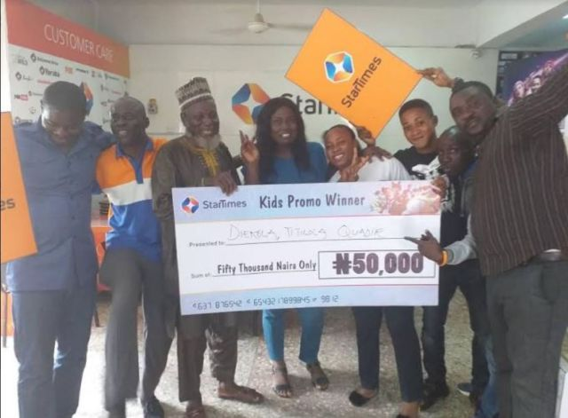 25 subscribers take home N1.2million in StarTimes Kiddies Promo - Brand Spur