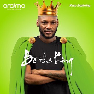 2face Becomes Oraimo Brand Ambassador, New 310 Hrs Battery Life Hands-Free Necklace Unveiled
