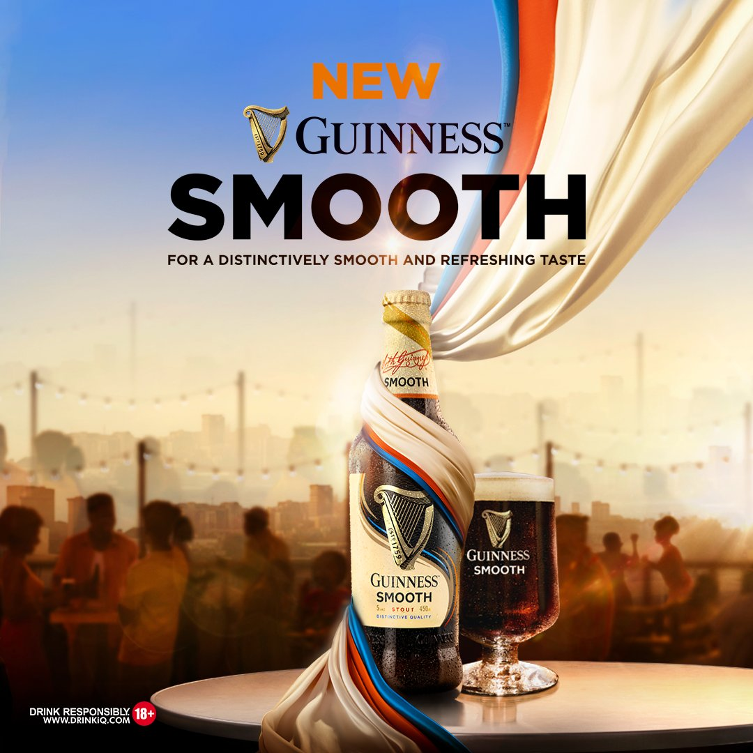 Guinness Nigeria unveils new Guinness Smooth Stout