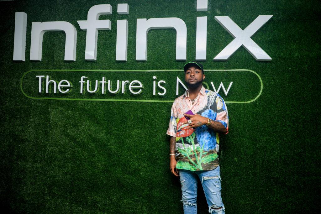 Infinix Mobility Extends Partnership with Afro Pop Superstar Davido (Photos)