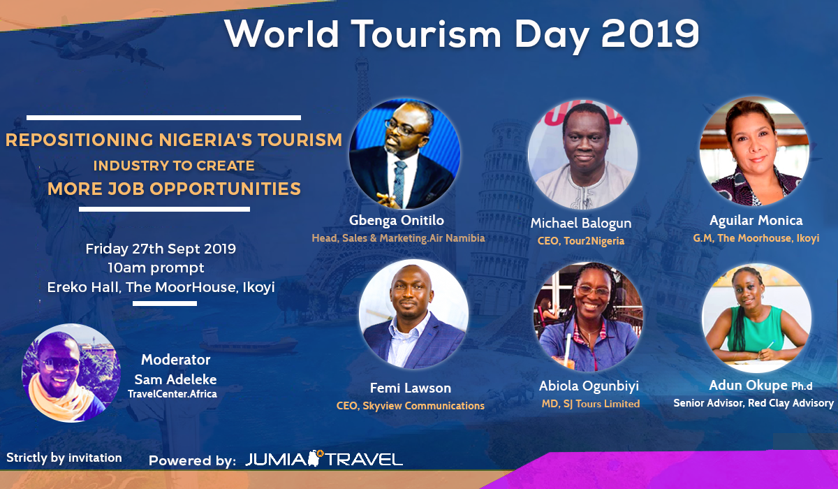 Jumia To Host Maiden World Tourism Day Event on September 27th