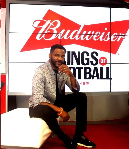 Thrills, music, fashion and celebrity guests feature on Budweiser's football show and viewing parties.