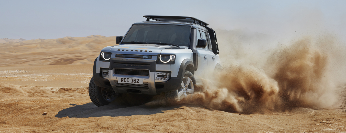Introducing The All-New Land Rover Defender (Photos) - Brand Spur