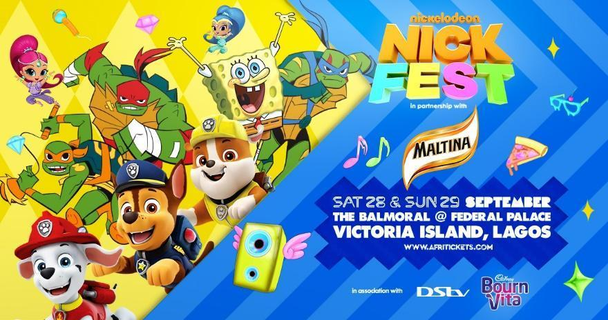 Dstv, Cadbury Partner Nickelodeon for 2019 Nickfest Nigeria