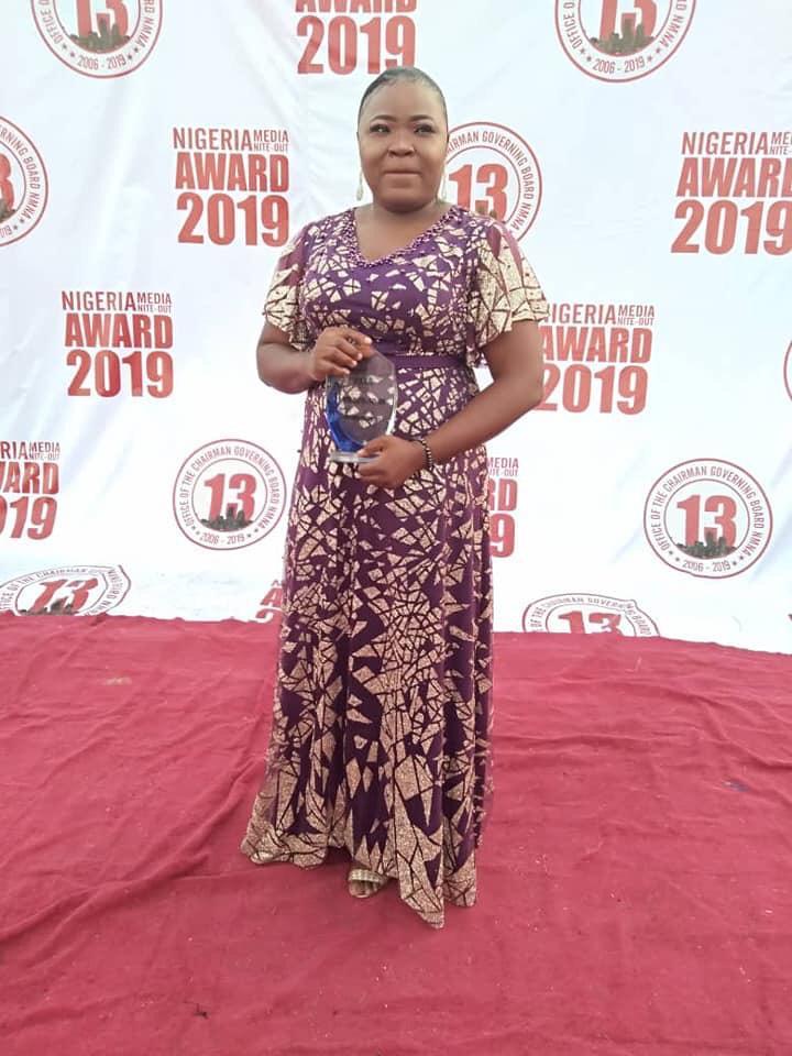 Nigerian Journalist, Rita Okoye wins 'Entertainment Writer of the year' Award - Brand Spur