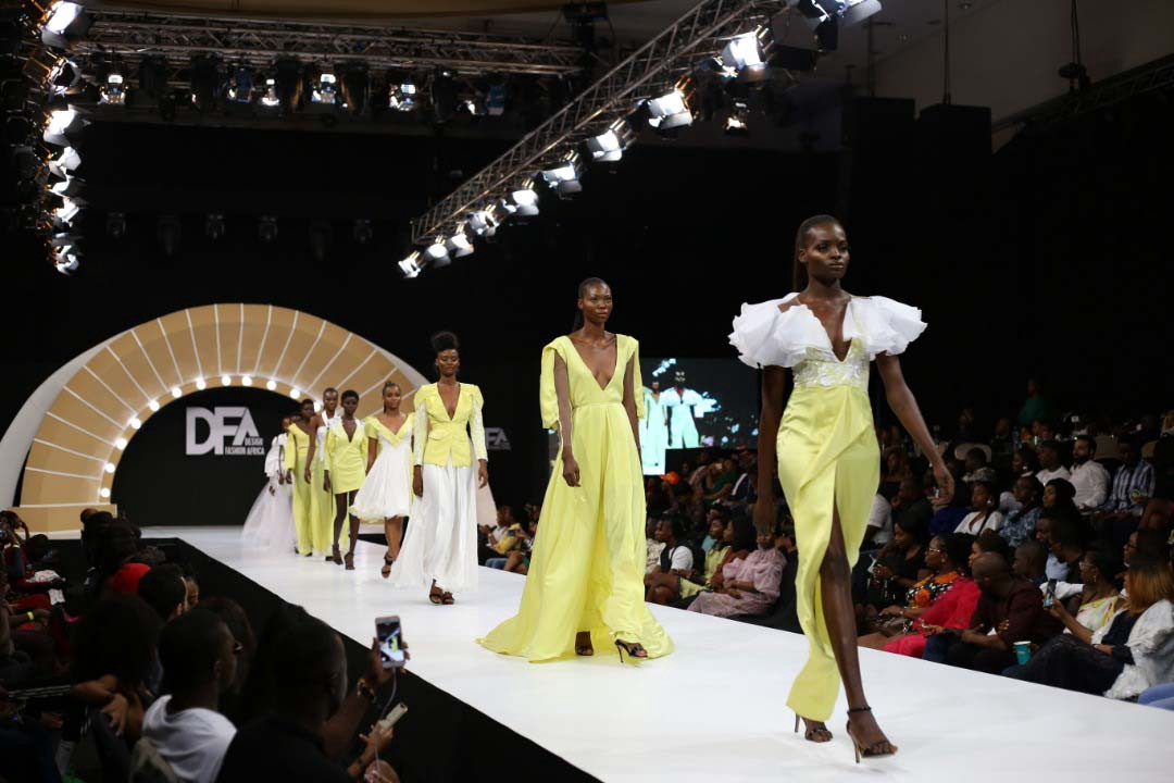 First Lady of Lagos State, Dr Mrs Ibijoke Sanwo-Olu Steps Out For Design Fashion Africa