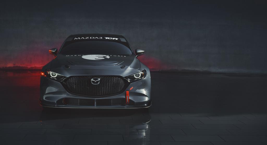 Mazda Unveils Mazda3 TCR