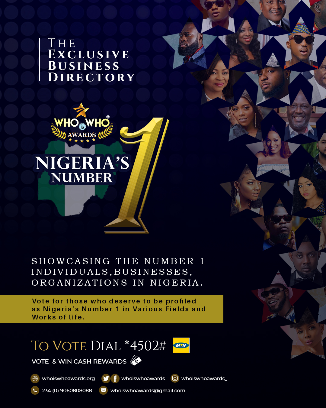 Who Is Who Awards Launch Nigeria's Number 1 - The Exclusive Business Directory Edition - Brand Spur