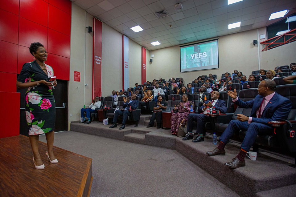 Photo news: Private screening of TRADERS - an original documentary series by UBA (Trailer)