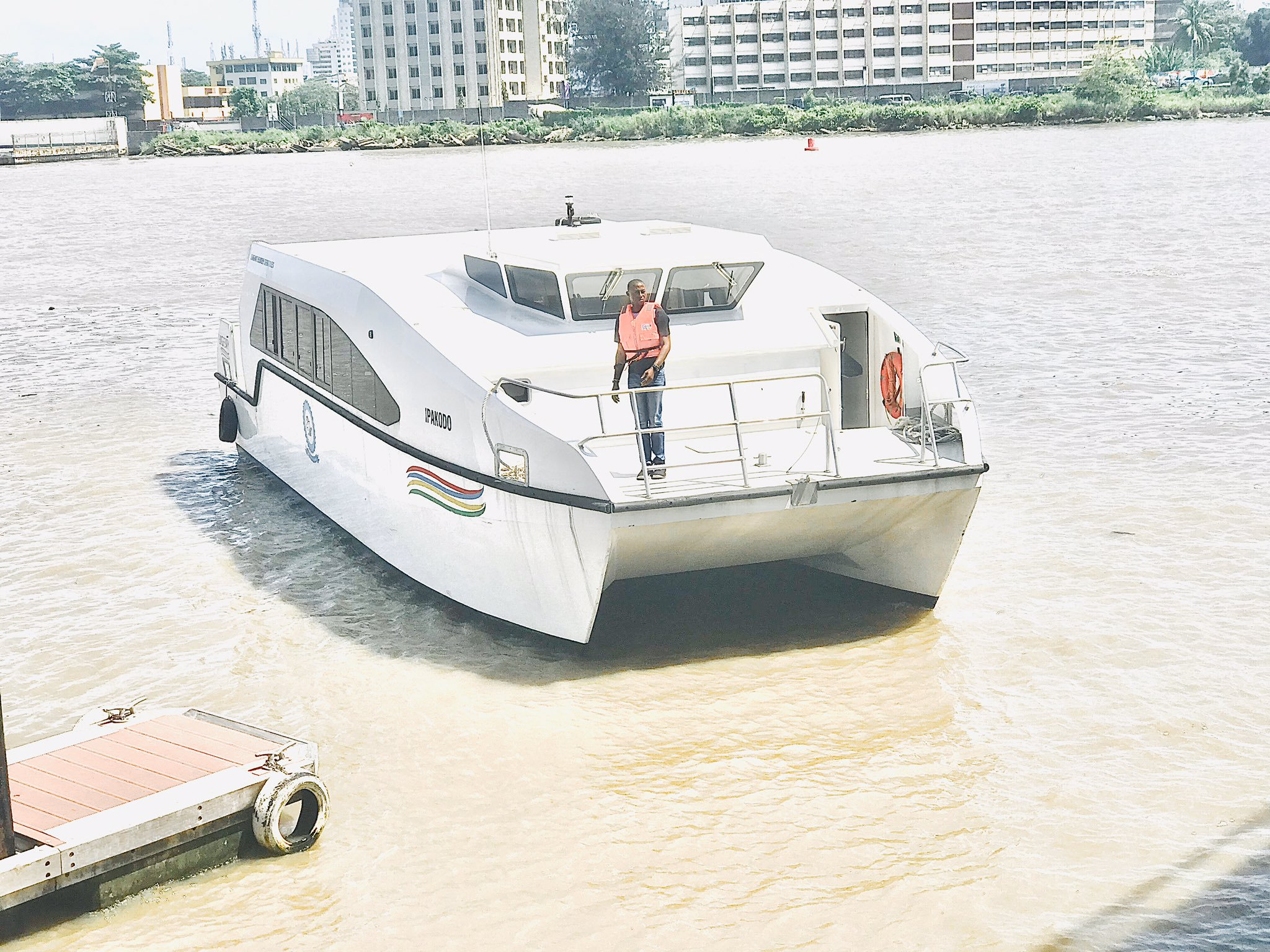 Photo News: We can't wait to decongest the traffic on Lagos roads - LagFerry