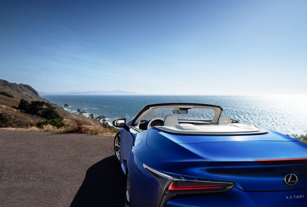 2021 Lexus LC 500 Convertible Makes Global Debut At 2019 Los Angeles International Auto Show (Photos)