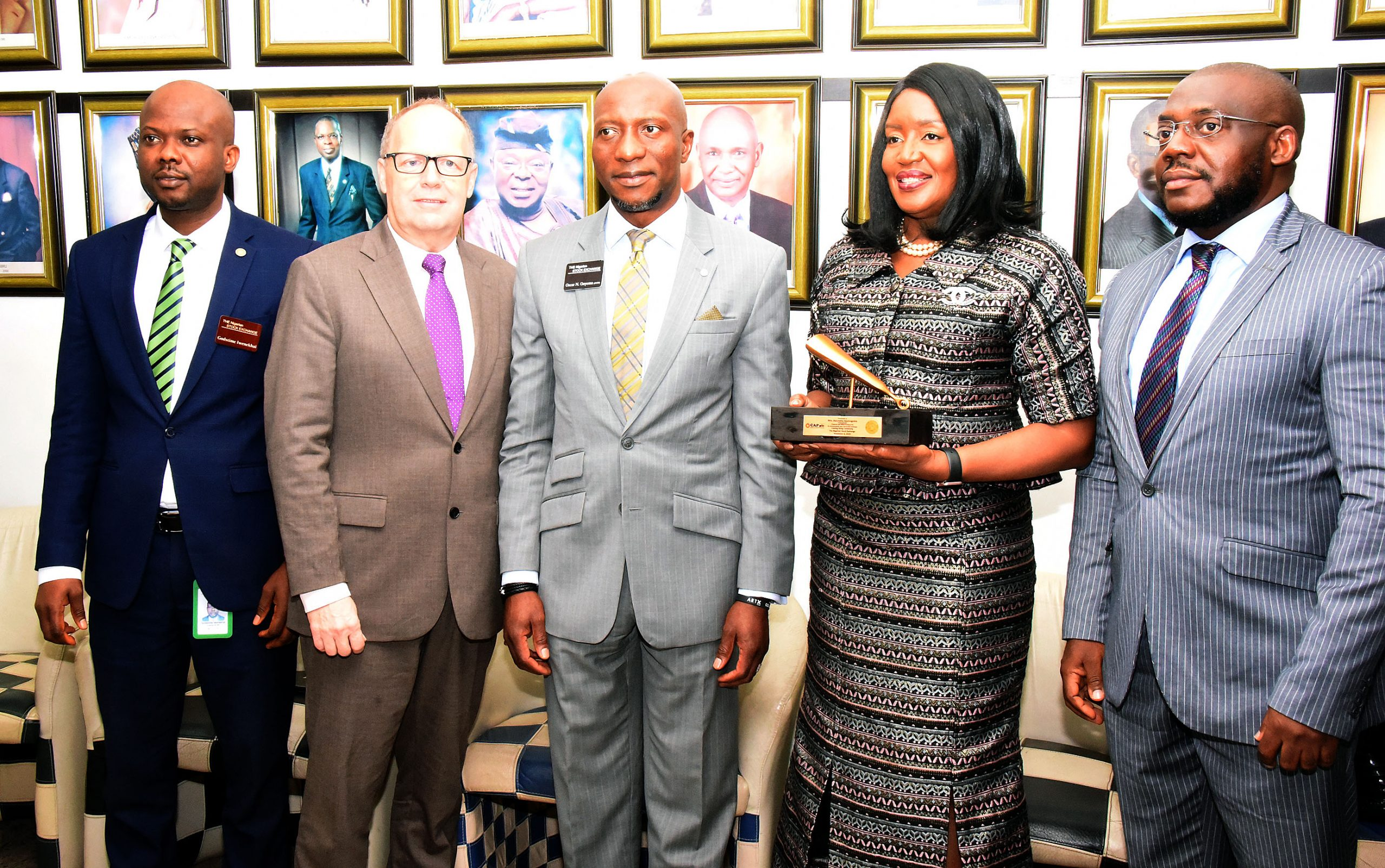 CAP Plc Visits To Nigerian Stock Exchange