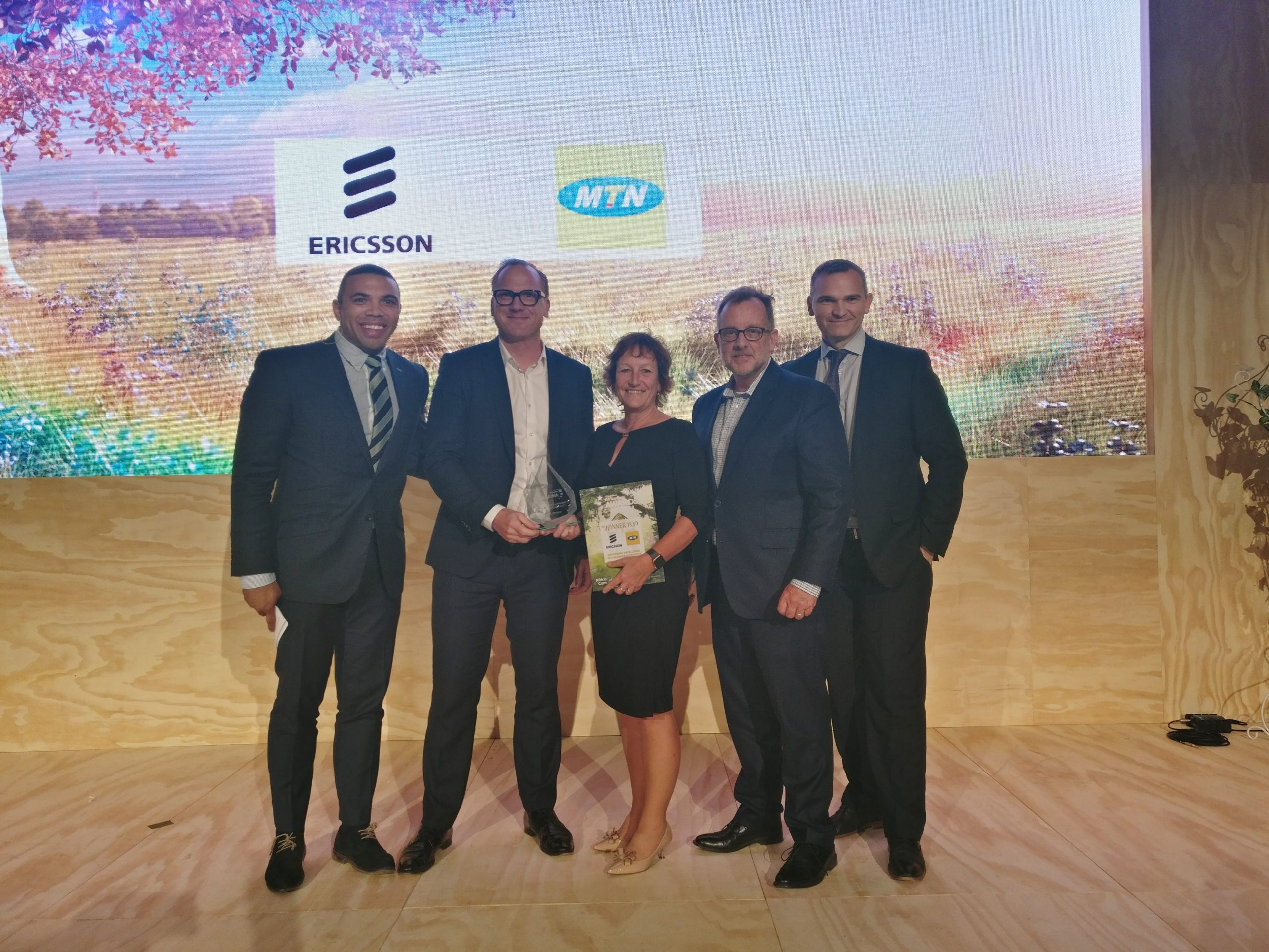 Ericsson And MTN Win 'Delivering Excellence In Customer Experience Award' At AfricaCom 2019