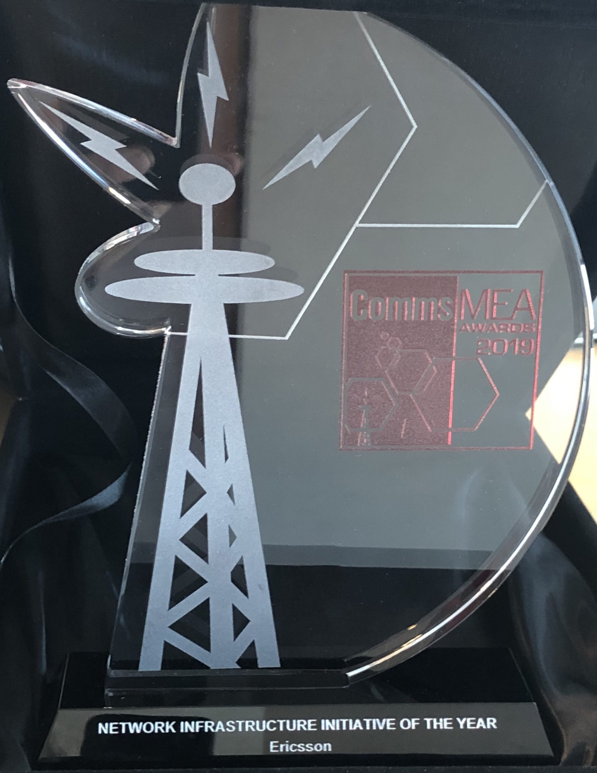 Ericsson Radio wins the Network Infrastructure Initiative of the Year