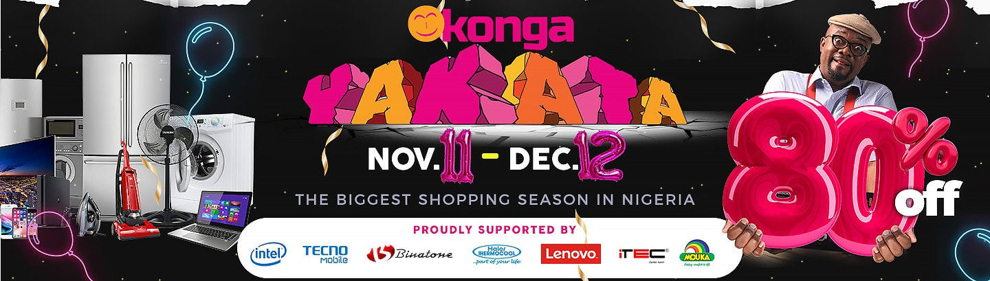 Konga Yakata Kicks Off with Global Singles Day Shopping Fiesta