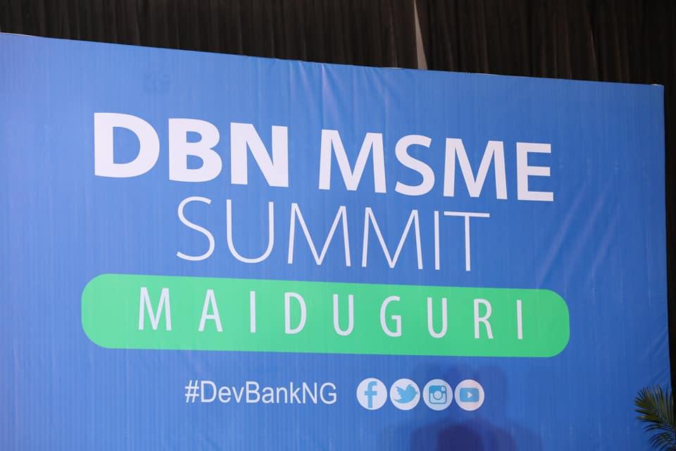 Photo News: Development Bank of Nigeria MSME Summit, Maiduguri, Borno State