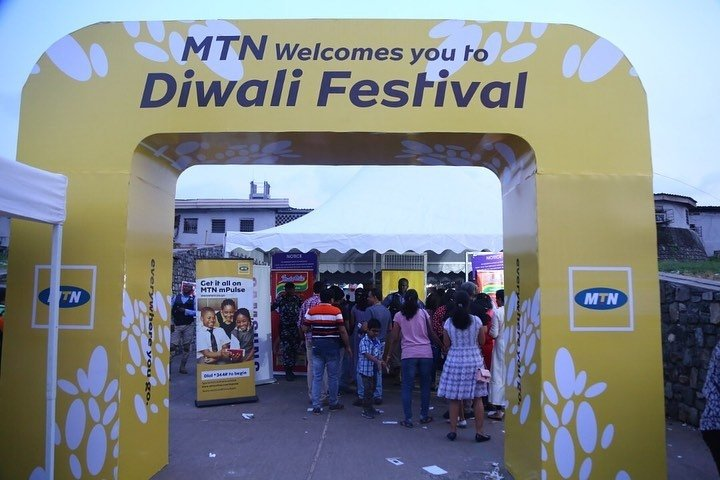 MTN Nigeria Celebrates Indian Community In Nigeria, Sponsors Diwali Festival (Photos)