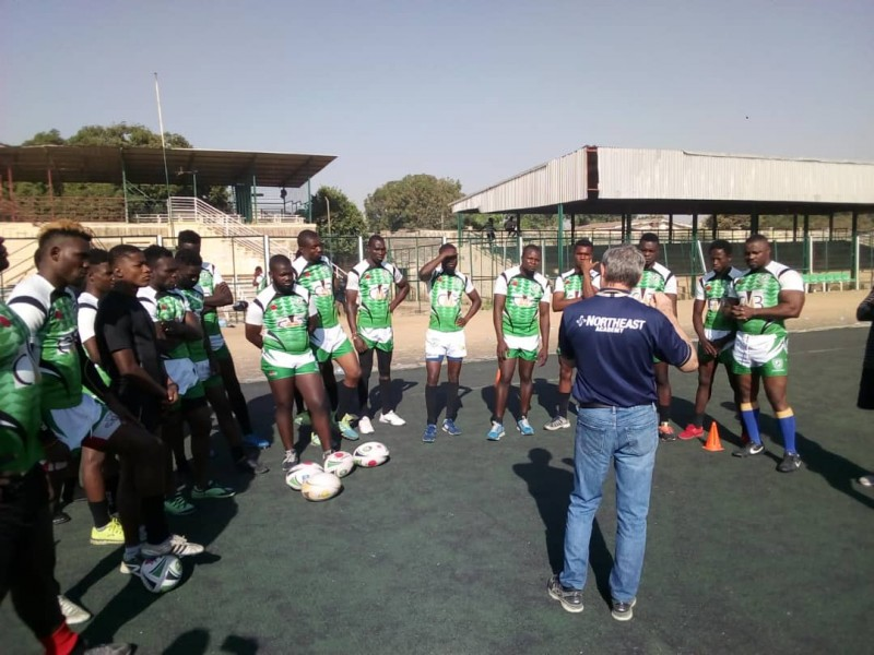 Nigeria Rugby names squad, arrive in Antananarivo for 2023 Pre World Cup Qualifiers (Photos)