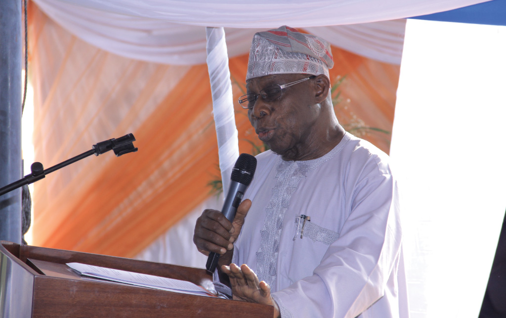 Obasanjo urges industrial scale agriculture for self-sufficiency in Africa