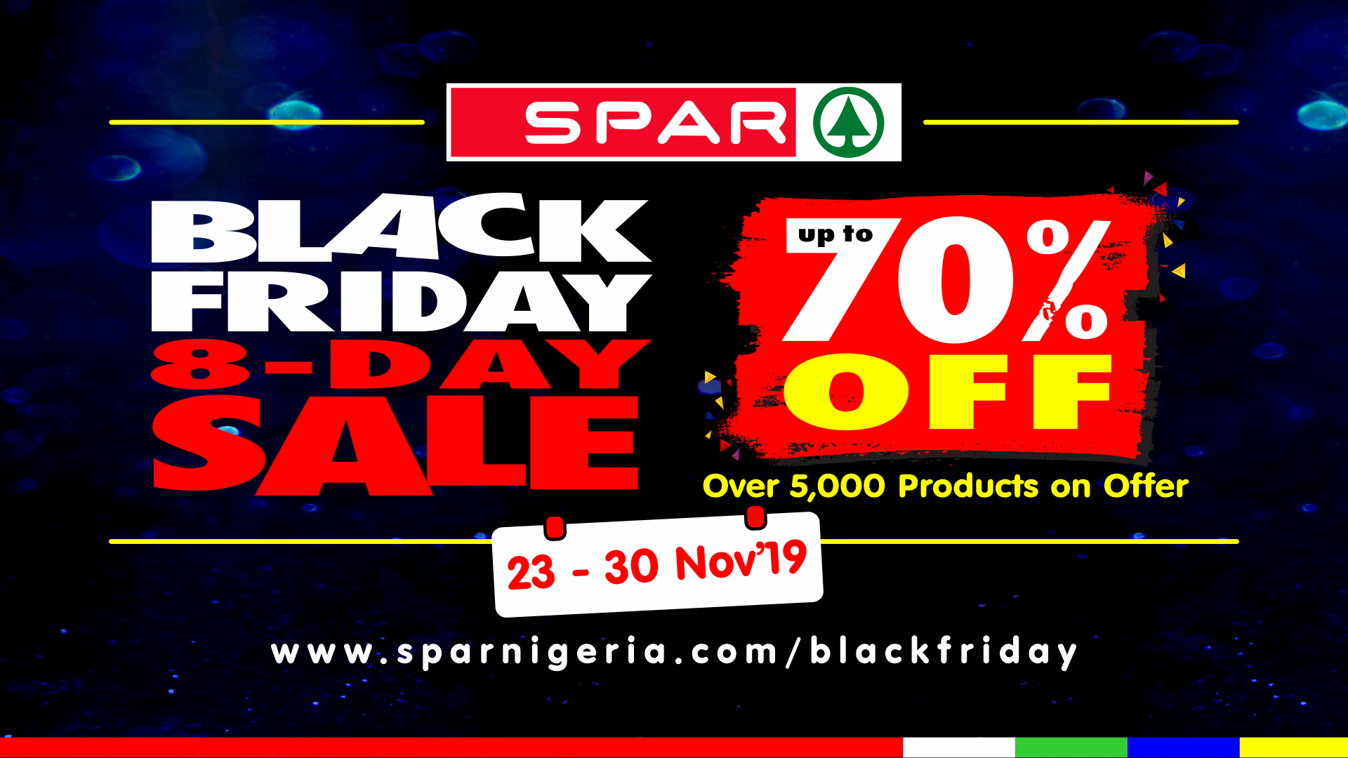 Unlimited Shopping At SPAR For Black Friday Sales