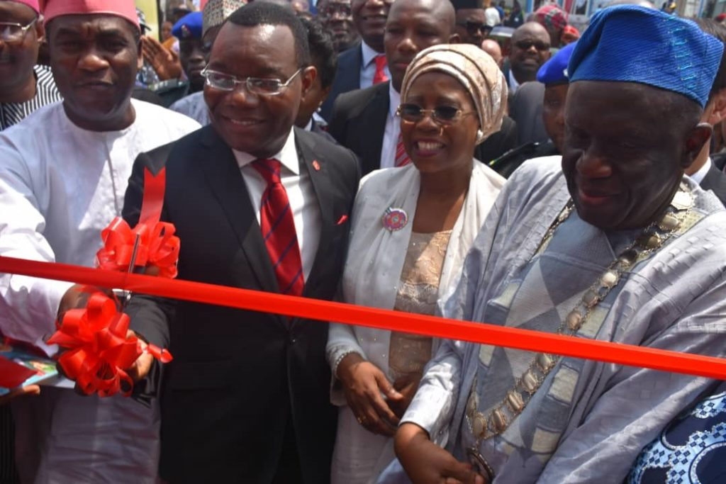 UBA Commits To Creating Superior Value For Customers…Launches Self-Printing Debit Card Machine At Flag Off Of Trade Fair - Brand Spur
