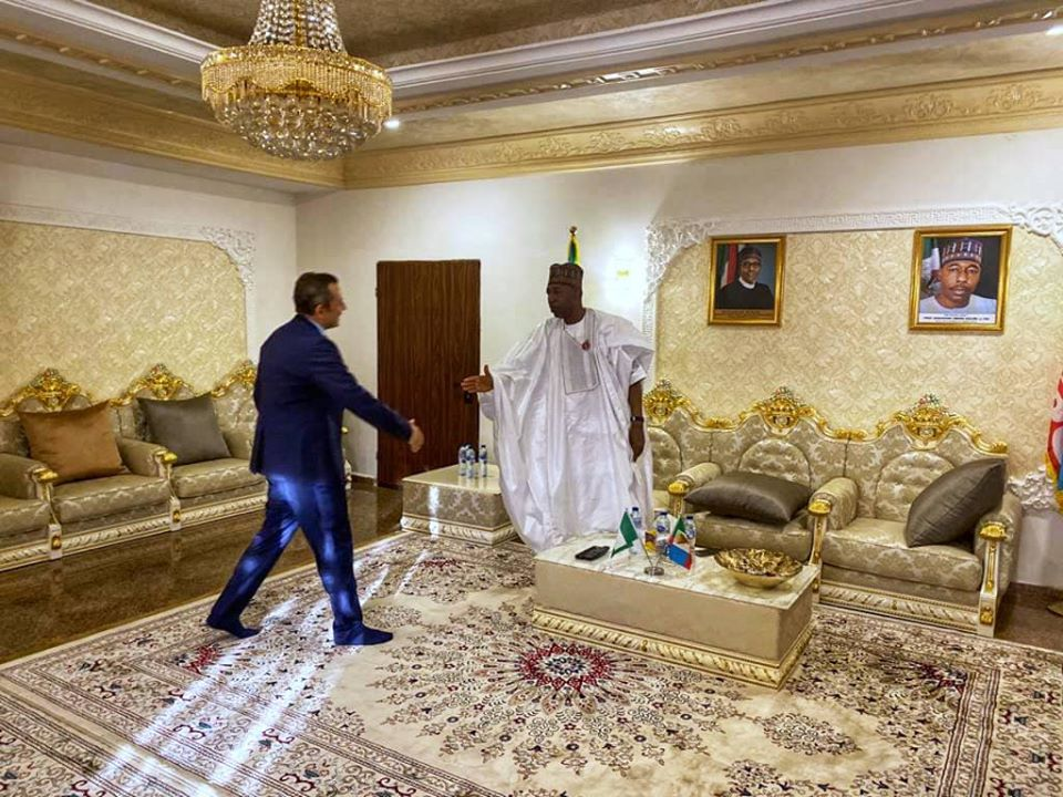 Borno, Egypt to collaborate on improving healthcare, education and irrigation in the state (Photos)