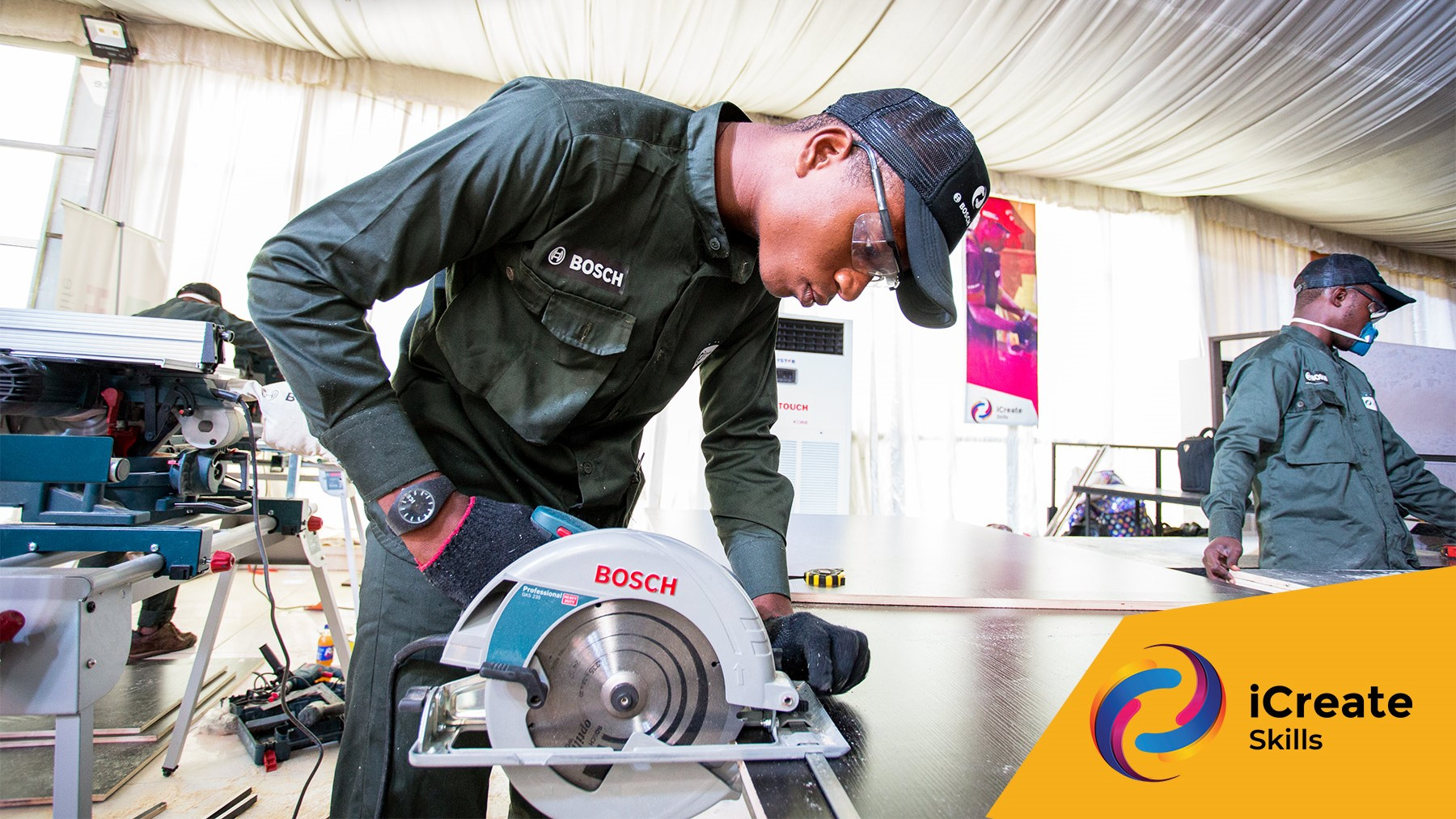 Bosch, iCreate Festival Hold National Finals in Lagos
