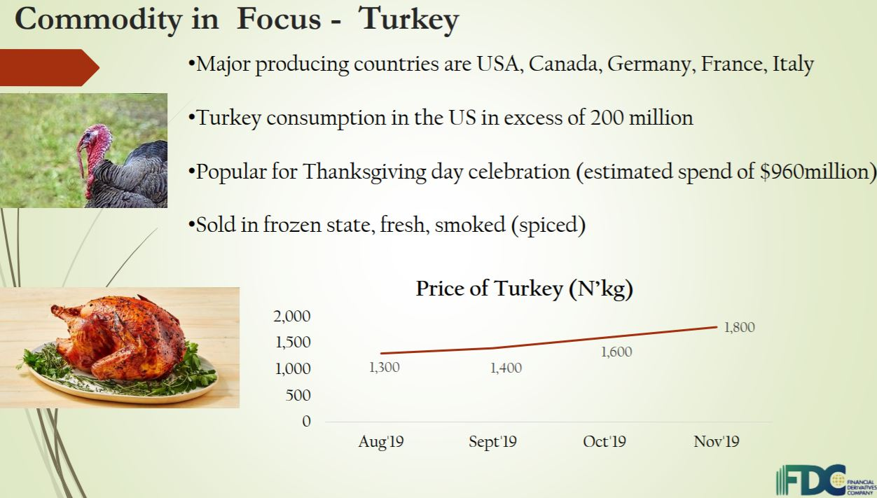 Domestic Price of Turkey Increased By 38% to N1,800 per kg - Report - Brand Spur