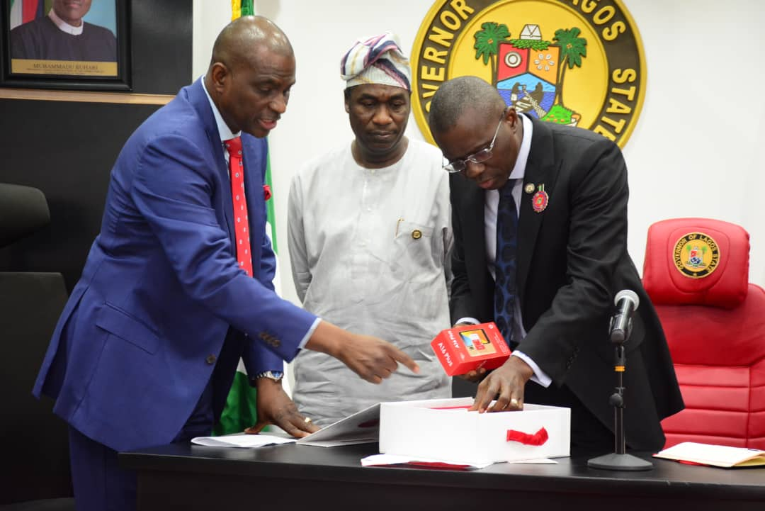 Gov. Sanwo-Olu Praises Airtel's Support for Security in Lagos (Photos)