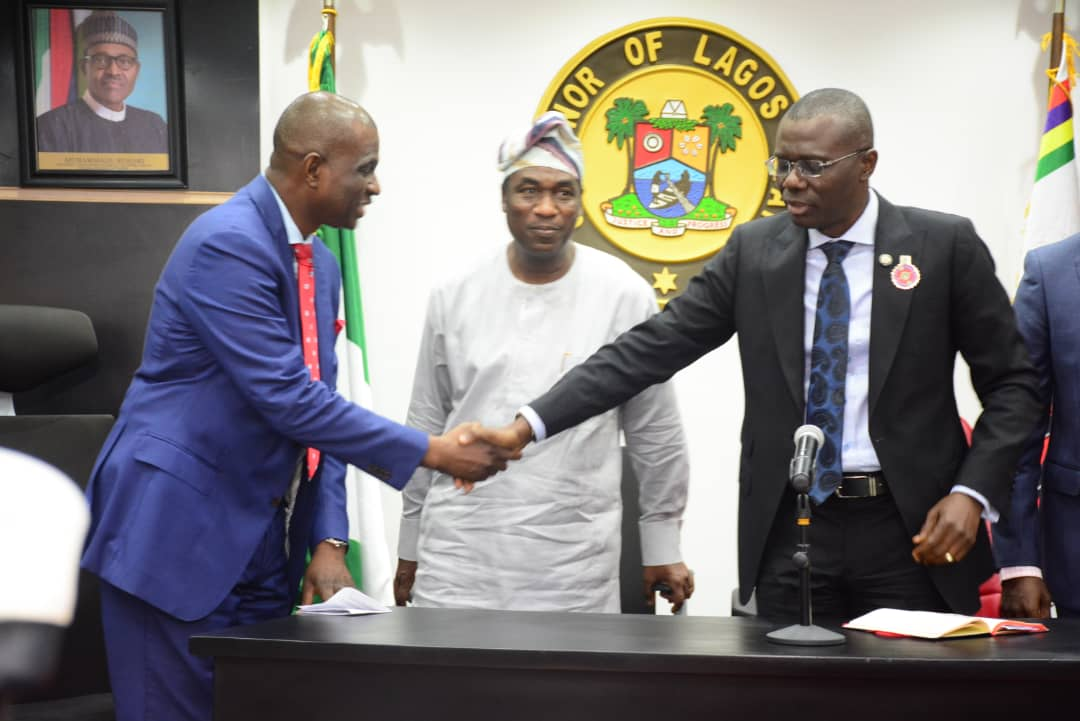 Gov. Sanwo-Olu Praises Airtel's Support for Security in Lagos (Photos)