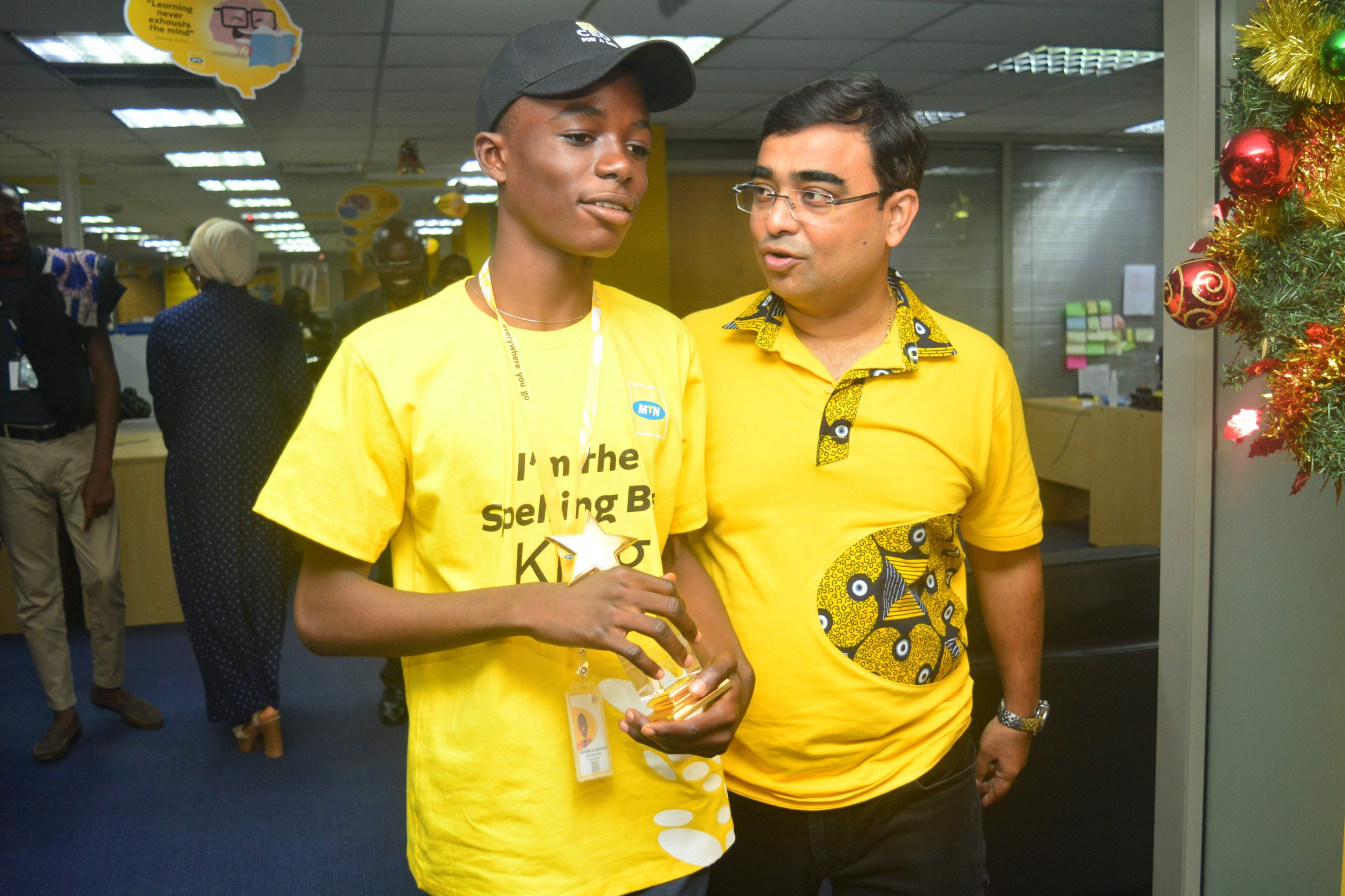 MTN Nigeria Announces One-Day Kid CEO, as Lagos experiences 5G demonstration