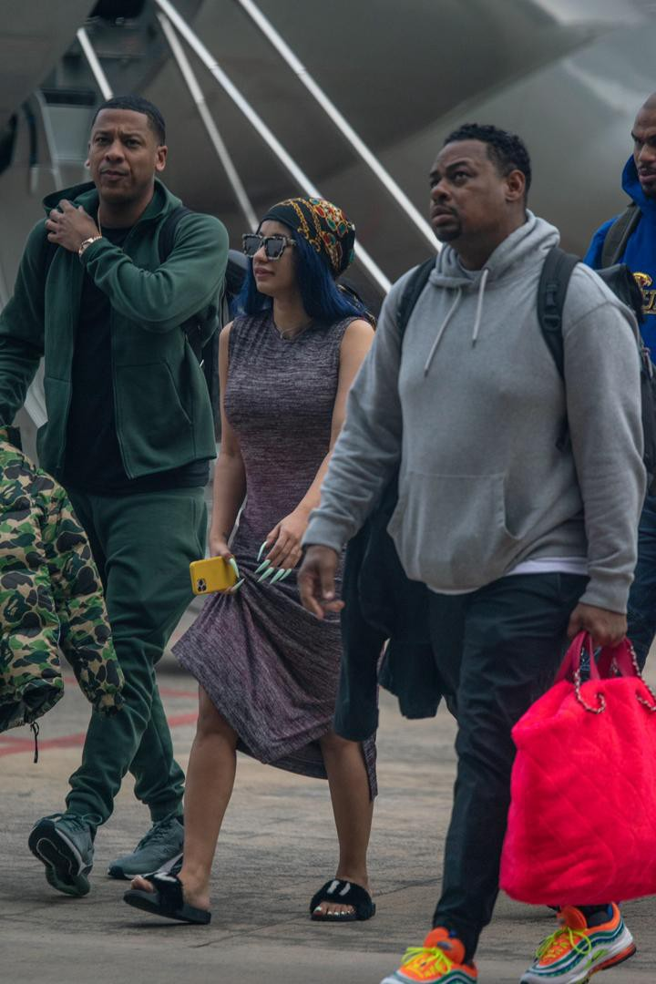 She's Here! Cardi B's In Nigeria! Here Are All The Details! (Photos)