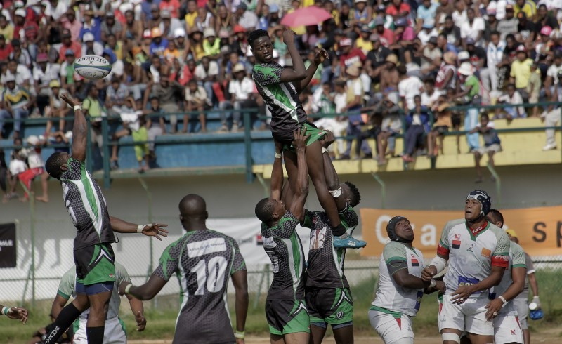 The Madagascar Makis XV Score Several Tries To Clinch A Decisive 63-3 Victory Over Nigeria's Black Stallions - Brand Spur