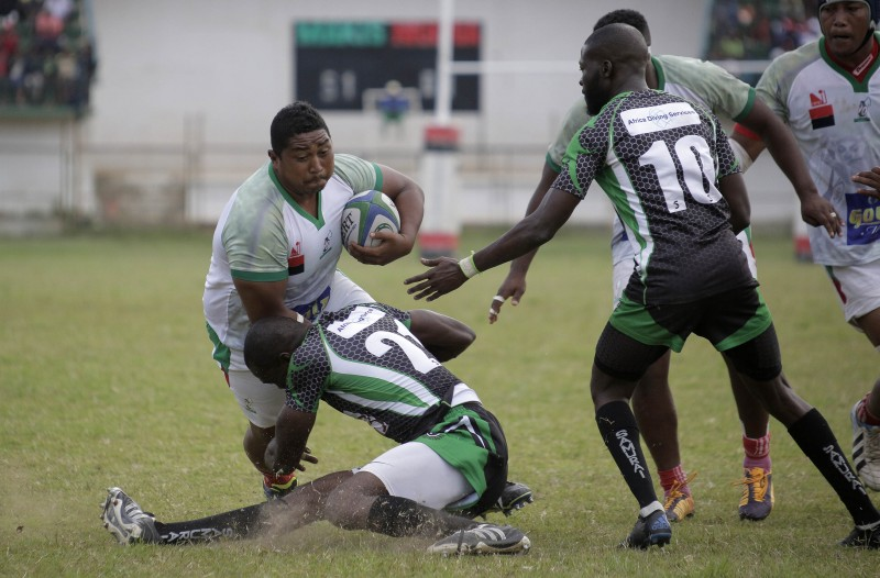 The Madagascar Makis XV Score Several Tries To Clinch A Decisive 63-3 Victory Over Nigeria's Black Stallions