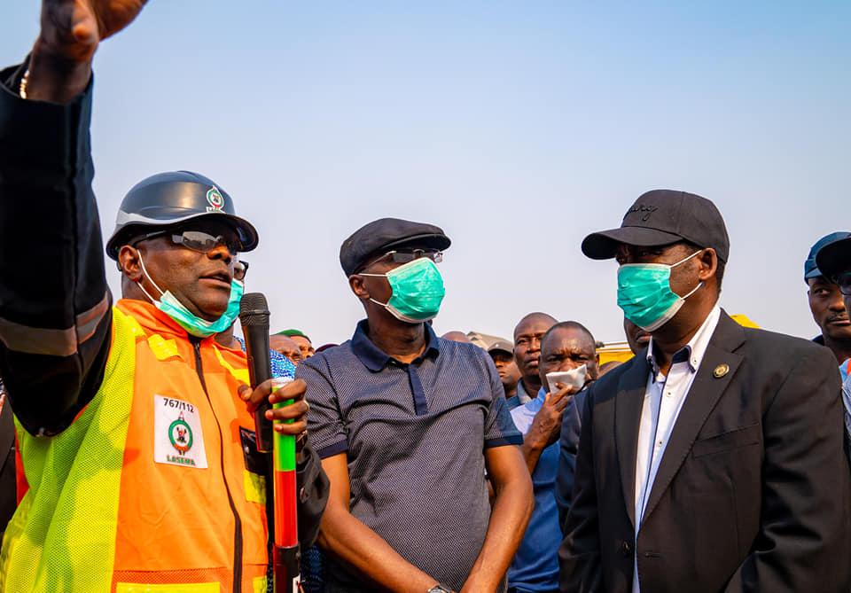 AMU MARKET FIRE: Sanwo-Olu meets Traders, says Govt won't take over Market - Brand Spur