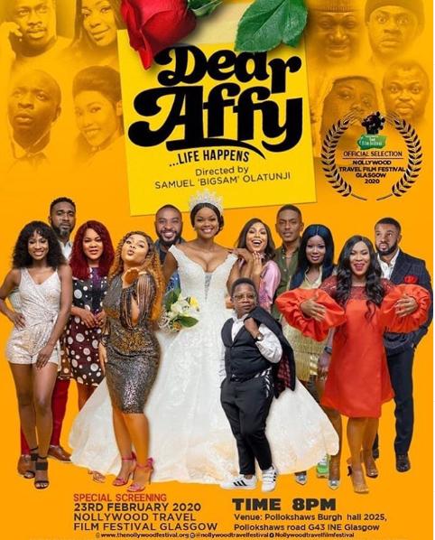 Nollywood Travel Film Festival Set To Showcase ''Dear Affy'' In Glasgow, UK