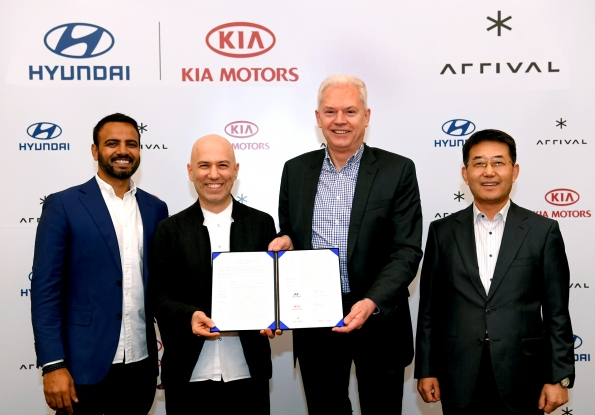 Hyundai and Kia Make Strategic Investment in Arrival to Co-develop Electric Commercial Vehicle