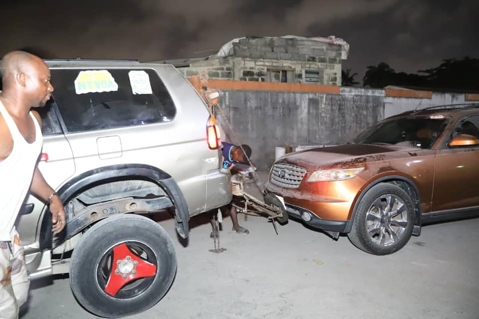 IKOYI/VI CLEAN-UP: 29 Vehicles impounded as Major Night Operation Holds (Photos) - Brand Spur