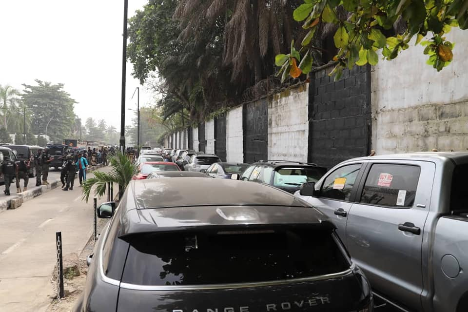 Ikoyi, Victoria Island Clean-Up Begins... 36 Vehicles Impounded, Four Persons Arraigned, Convicted (Photos) - Brand Spur