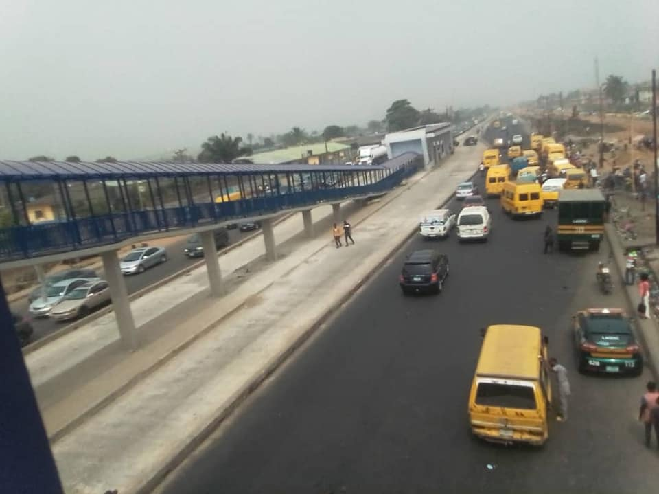 Lagos State Govt goes tough on Pedestrians Crossing Highways